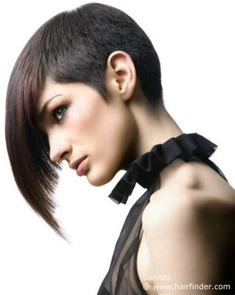 long hair in front short in back long reverse bobs short hairstyle 2013