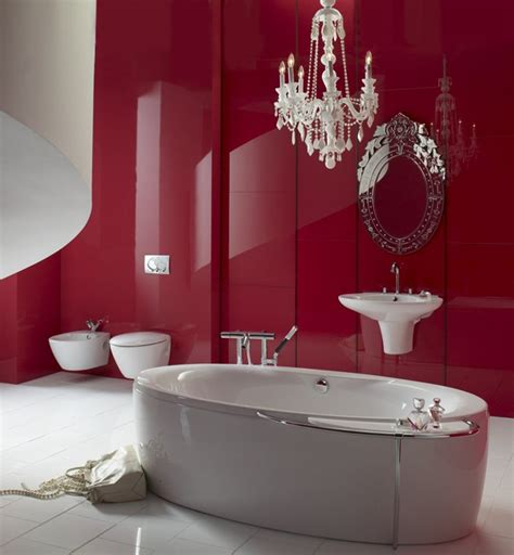 red and white bathroom ideas red bathroom design ideas interiorholic com