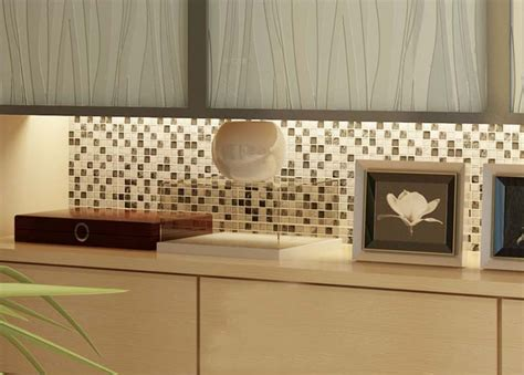wall tile kitchen backsplash mosaic tile kitchen backsplash brushed stainless steel with base crackle glass mosaic