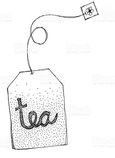 doodle sack meaning tea bag doodle stock vector 471475313 istock