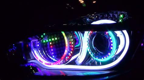 custom led lights for cars these japanese custom led headlights can spell autoevolution