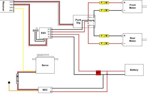 wiring diagram for rc motor wiring get free image about