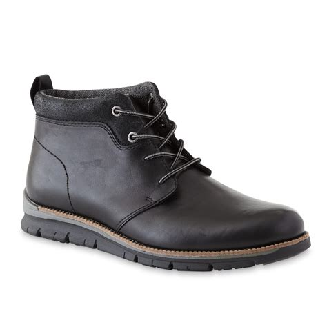 s boots thom mcan s sheley black chukka boot shoes s