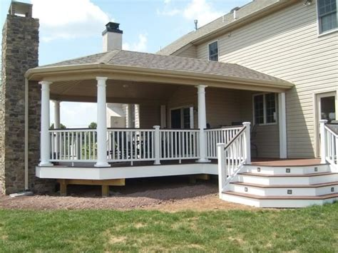 ideas for covered back porch on single story ranch 16 best images about covered deck ideas on pinterest