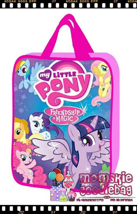Totebag Goodiebag Tas Souvernir Tas Kado Hadiah Souvernir jual tas souvenir ultah my pony momskie goodiebag