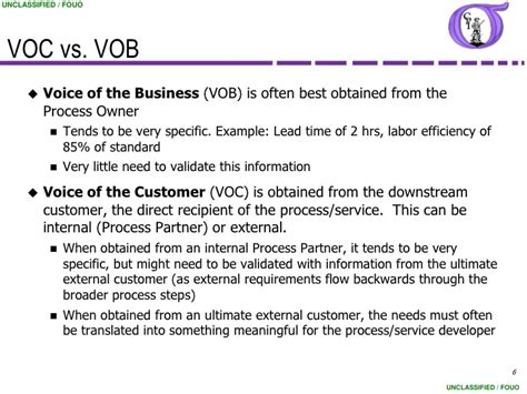 voice of the customer template ng bb 13 voice of customer