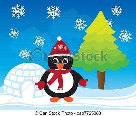 imagenes de invierno caricatura vectores de ping 252 ino navidad vector caricatura