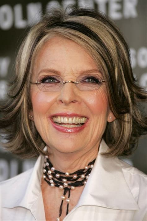 pictures of diane norvilles new haircut diane keaton s layer haircut diane keaton hairstyle
