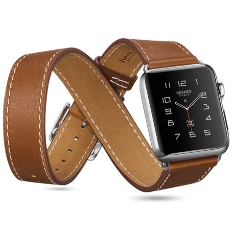HOCO   Hermès Style Apple Watch   Pack 3 leather bands   Band Band