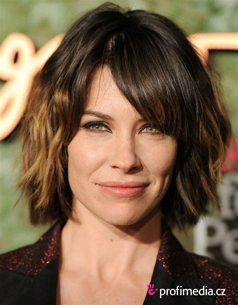 just a bob hairstyle evangeline lilly google search hair pinterest