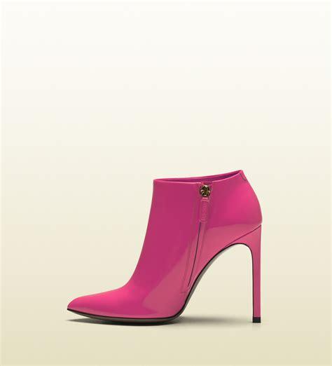 pink patent high heels shoeniverse gucci gloria shocking pink patent leather