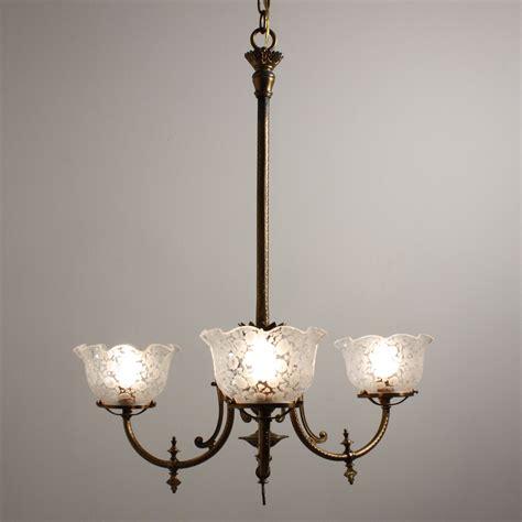 antique gas l globes antique gas chandelier antique exquisite epoch original