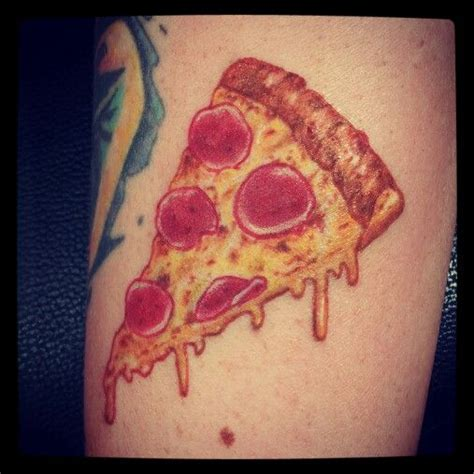 pizza tattoo pizza tattoos piercing gauges