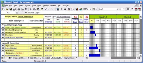 visio gantt chart from excel data visio gantt chart
