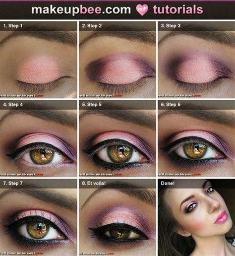 fashionable smoky purple eye makeup tutorials