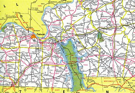 kentucky map interstate interstate guide interstate 24