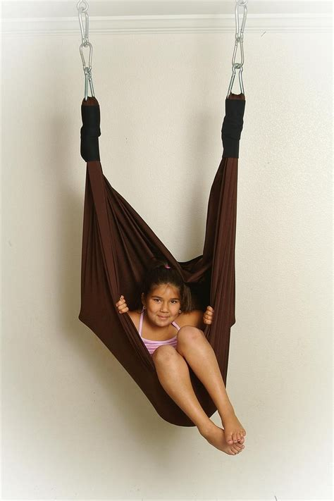 diy lycra swing the snuggle swing will provide the child with vestibular