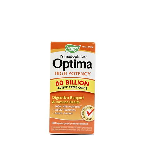 Gratis Ongkir Original Optima Suplemen Multivitamin From Nature S nature s way primadophilus optima high potency 30 vcapsules evitamins