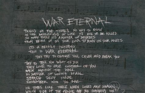testo war is arch enemy il testo di war eternal