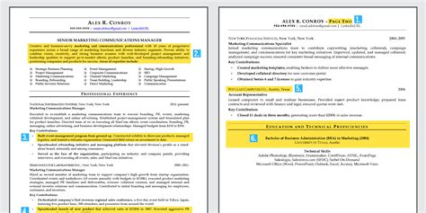 parts of a resume what you need to know