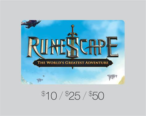 Runescape Gift Cards - ebay gift card u s games distribution