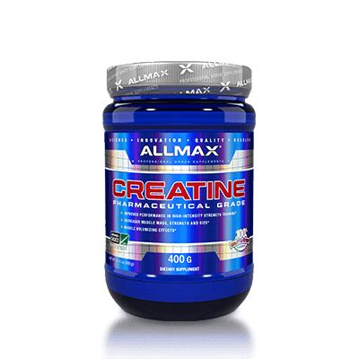 creatine empty stomach eric s gains stack allmax nutrition