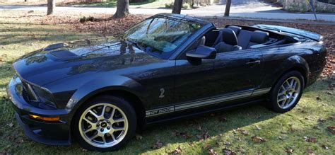 2008 ford mustang convertible for sale 2008 ford mustang shelby gt 500 convertible for sale