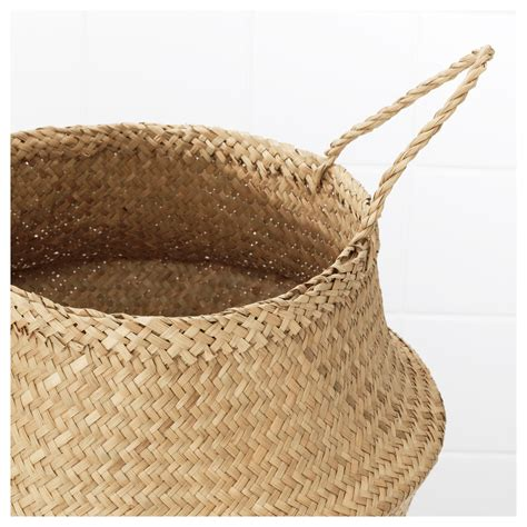 ikea baskets fl 197 dis basket seagrass 25 cm ikea