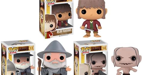 the blot says the lord of the rings the blot says the hobbit pop vinyl figures by funko
