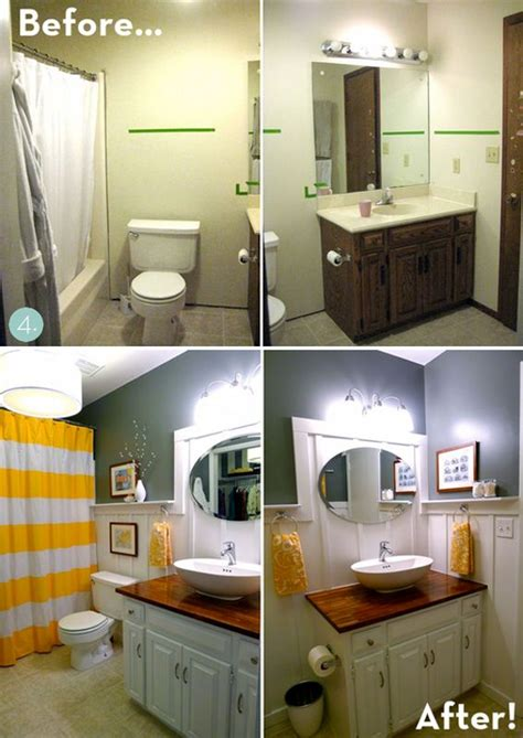 budget bathroom makeover best 25 budget bathroom makeovers ideas on pinterest