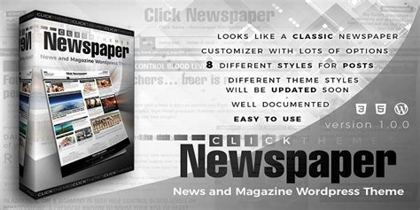 theme newspaper nulled click newspaper v1 0 news magazine wordpress theme
