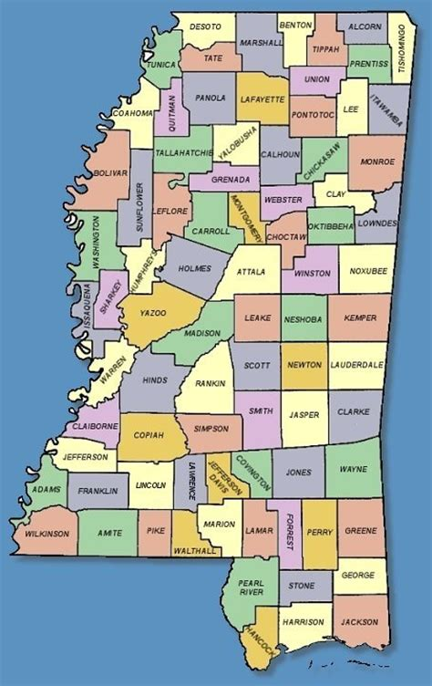mississippi county map maps mississippi county map