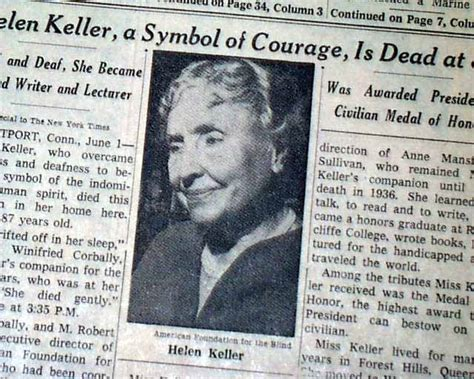 helen keller biography death everything has its wonders even darknes by helen keller
