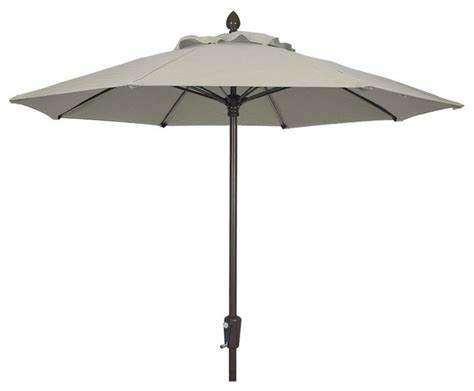 9 market umbrella pulley and pin with white pole finish