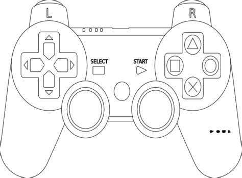 free coloring pages of xbox remote control