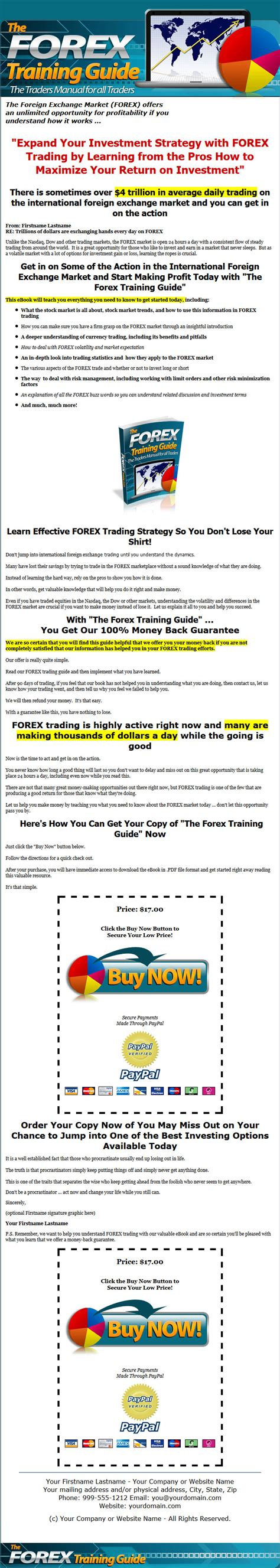 forex tutorial reddit forex training guide mrr ebook and minisite