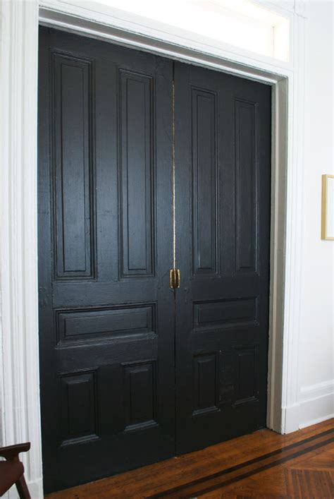 benjamin moore onyx black doors manhattan nest