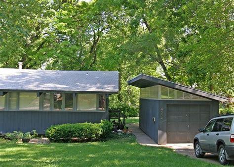 mid century modern garages modern garage modern shed