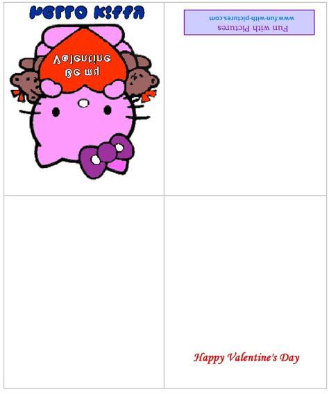hello kitty printable greeting cards printable hello kitty birthday cards