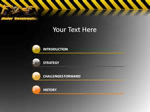 Construction Powerpoint Template by Construction Powerpoint Templates