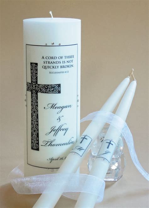Wedding Bible Ep 1 by Christian Wedding Unity Candles 97 Designs 7 Verses