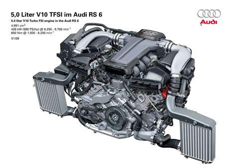 Audi Rs6 Motor by Audi Rs6 Avant Ii Nejsilnějš 237 V10 Novinky