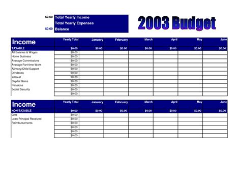 worksheet church budget worksheet caytailoc free