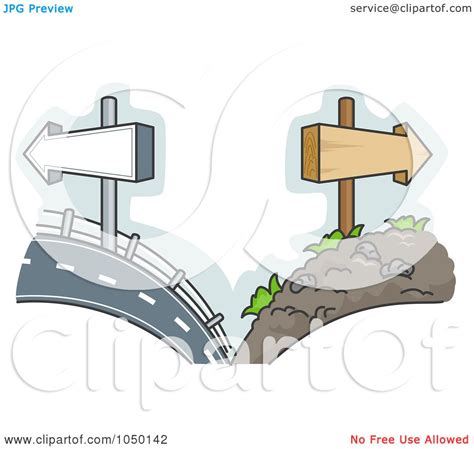 royalty free rf clip art illustration of a split scene