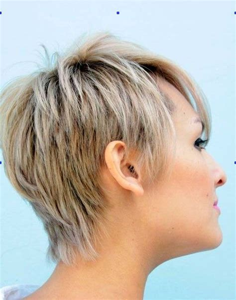 rear view hairstyles gallery very short edgy hairstyles for women back view www