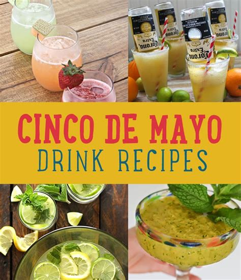 Recipes For A Cinco De Mayo by 18 Cinco De Mayo Drink Recipes For Your