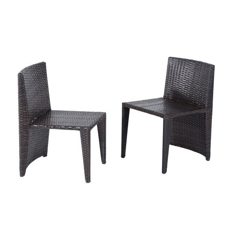 wicker table and chairs set outsunny 3 piece chair and table rattan wicker patio