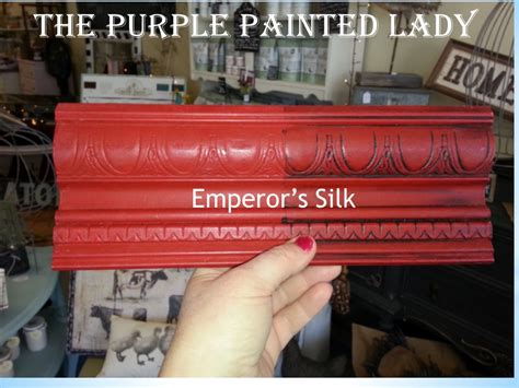 emperor s silk chalk paint 174 tell me all about it and s other reds the purple