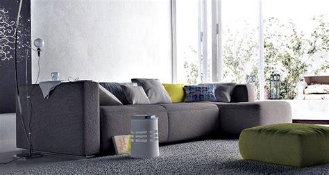 modern living room with awesome grey sofa interior design ideas