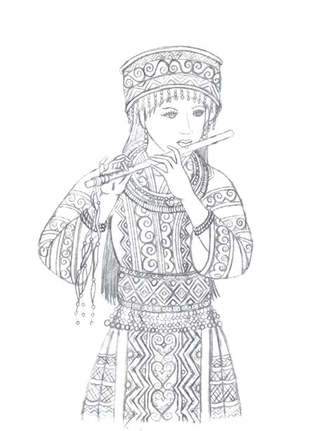 hmong new year coloring pages hmong pages coloring pages